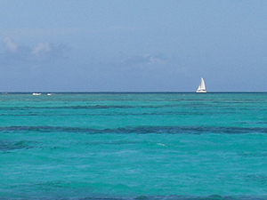 Long Bay Beach Sailing, Antigua