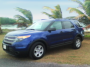 Antigua SUV rental - Ford Explorer