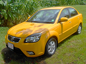 Antigua Car Rental - Kia Rio