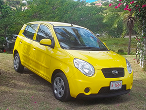 Antigua Car Rental - Kia Picanto