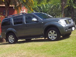 Antigua SUV rental - Nissan Pathfinder
