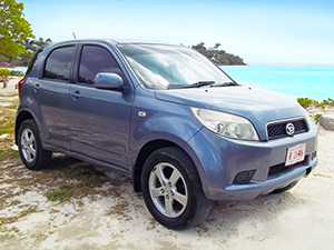 Antigua Jeep Rental - Daihatsu Terios