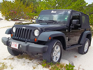 Antigua Jeep Wrangler Rental