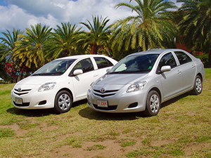 Antigua Car Rental - Toyota Yaris